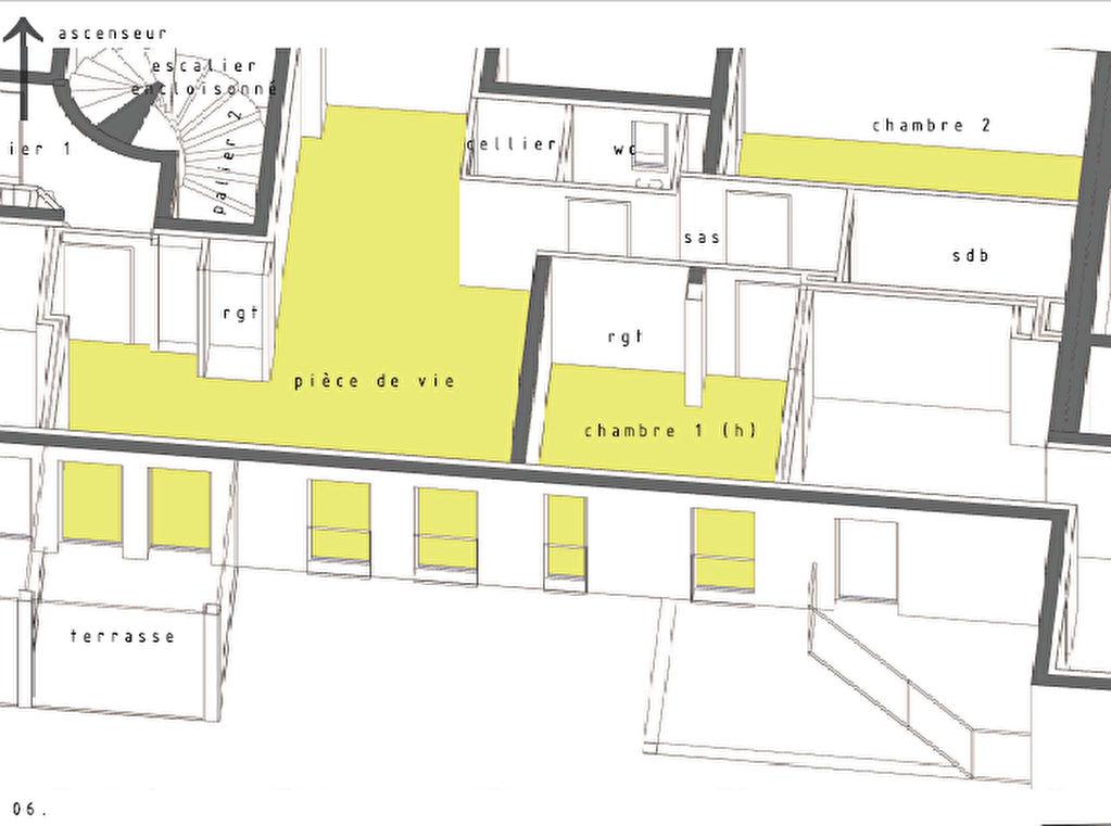 Appartement 3 pièces 77,8 m2 Bernay
