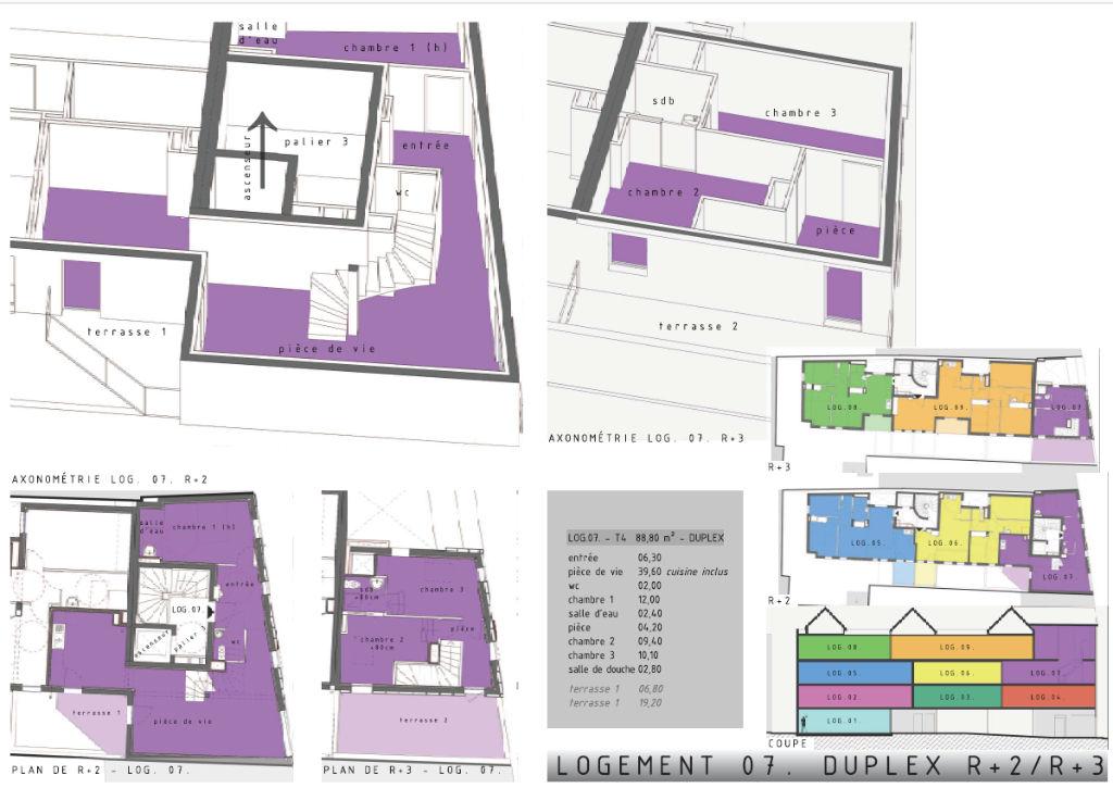 Appartement 4 pièces 88,8 m2 Bernay