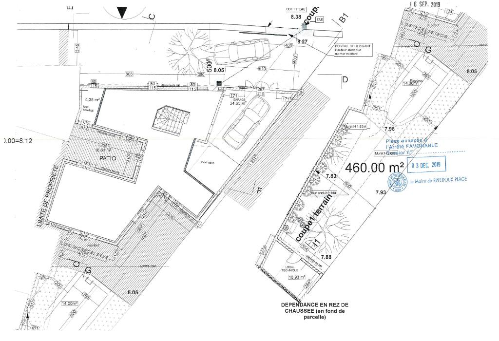 Terrain Rivedoux Plage 460 m2 RIVEDOUX PLAGE (17940)