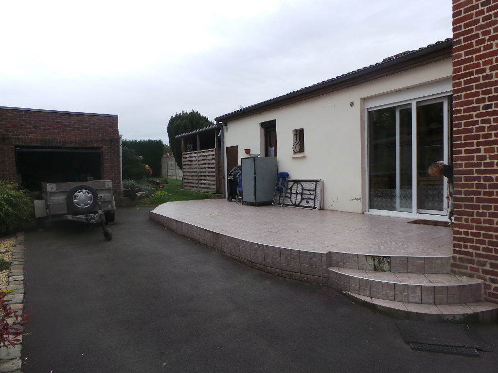 Annonce vente maison sin le noble 59450 110 m 162 for Garage sin le noble