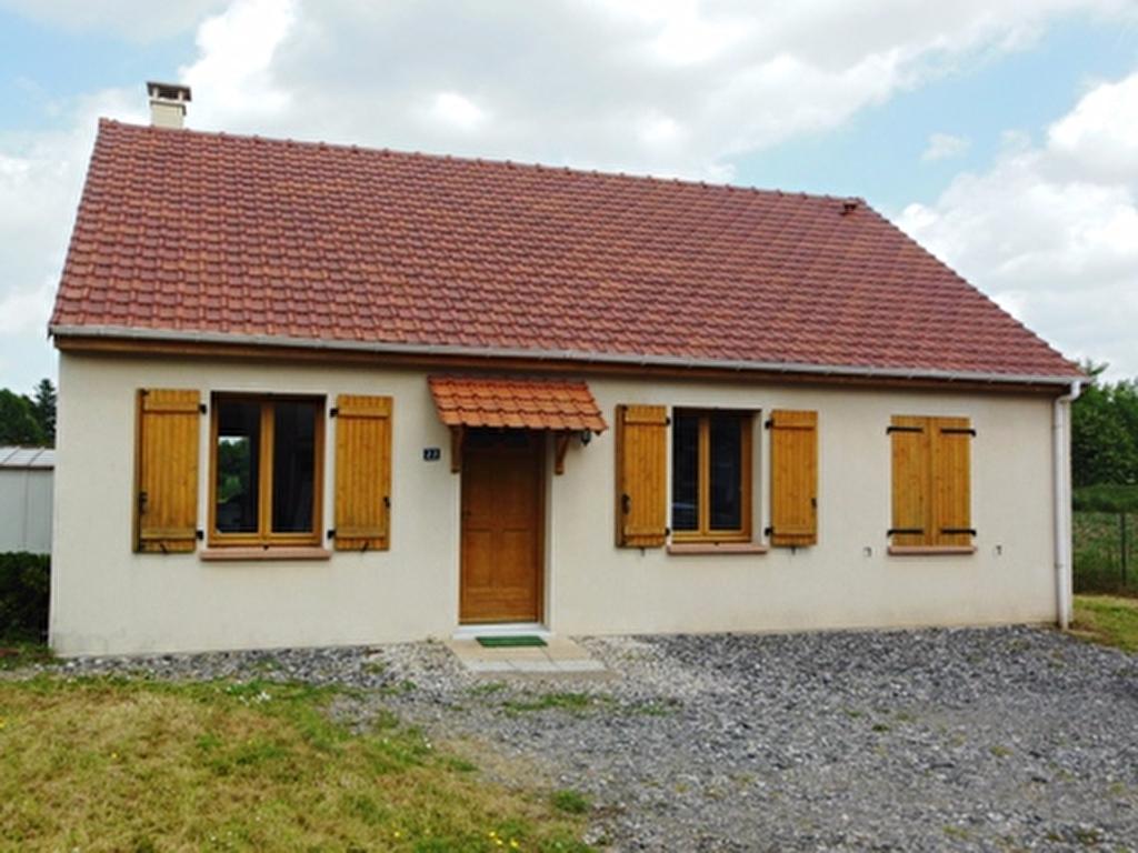 Maison 4 pièces 70,02 m2 Bouchoir