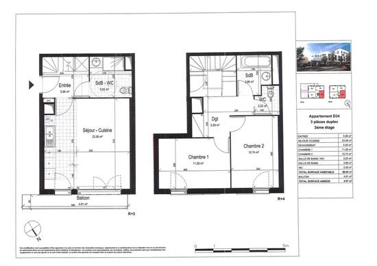 003039E05ZS5 - Appartement à vendreCHAMPIGNY SUR MARNE