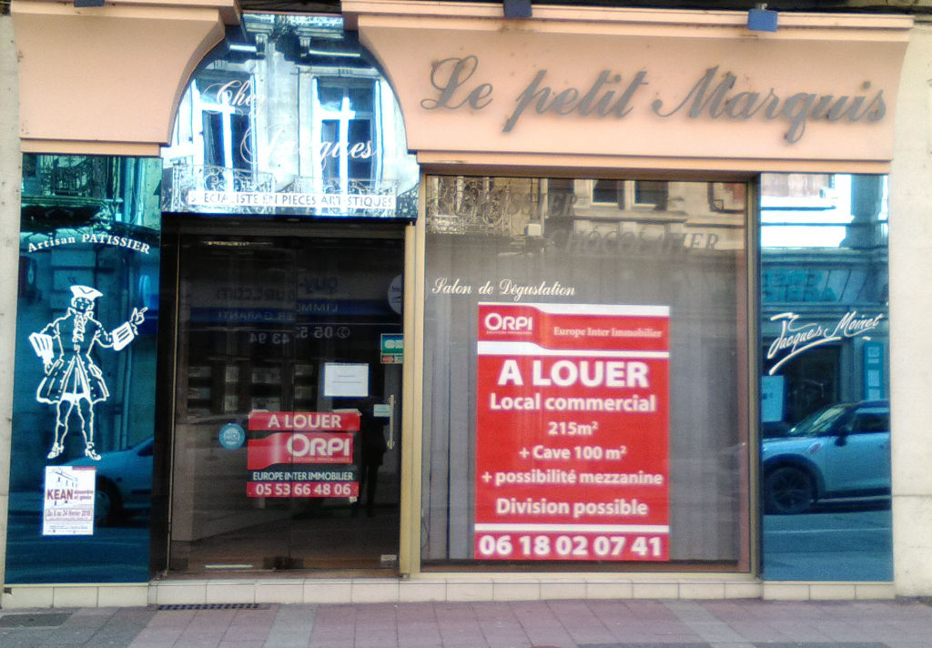 Local Commercial à louer  Agen