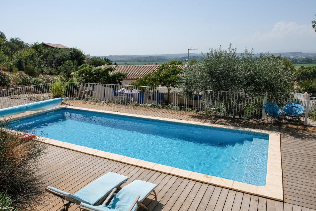 Vente maison castelnau de guers vente immobilier pezenas 34120 orpi anthinea p zenas agence - Pezenas piscine ...