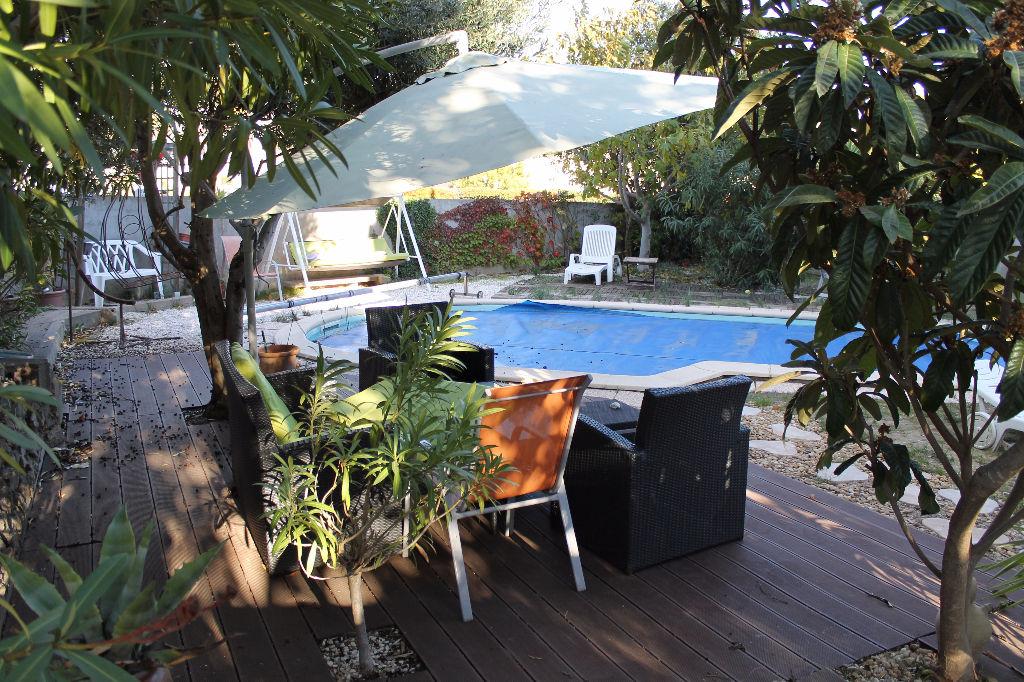 PHOTO1 - Vente grande Maison avec jardin et piscine à Pezenas .
