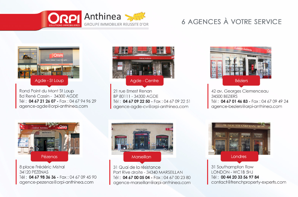 Vente Local commercial AGDE
