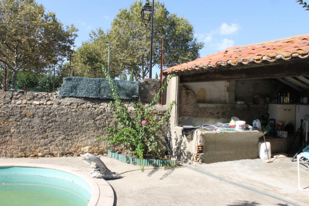 PHOTO1 - Vente Maison vigneronne avec jardin et piscine proche Pézenas .