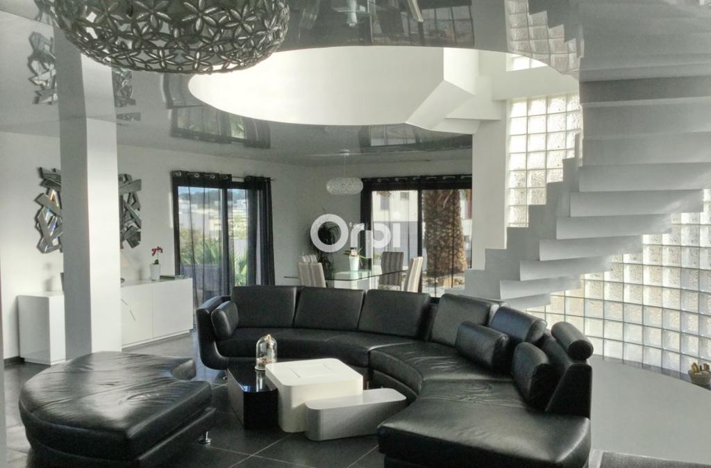 PHOTO1 - Vente villa contemporaine avec piscine et  studio sur 500 m² de parcelle à Agde .