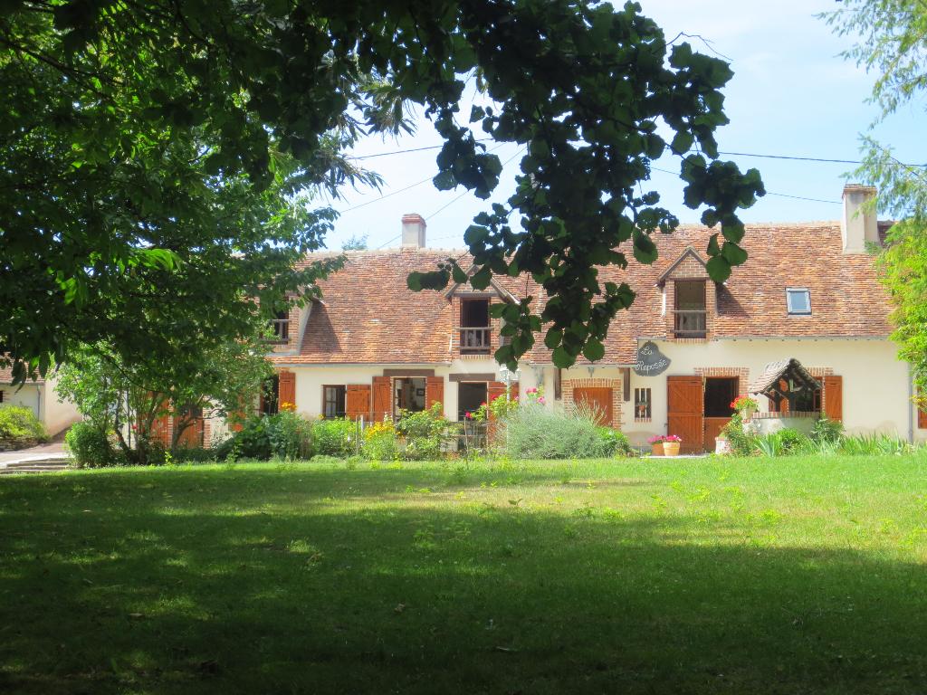 Maisons vendre pruniers en sologne entre particuliers for Acheter maison france voisine