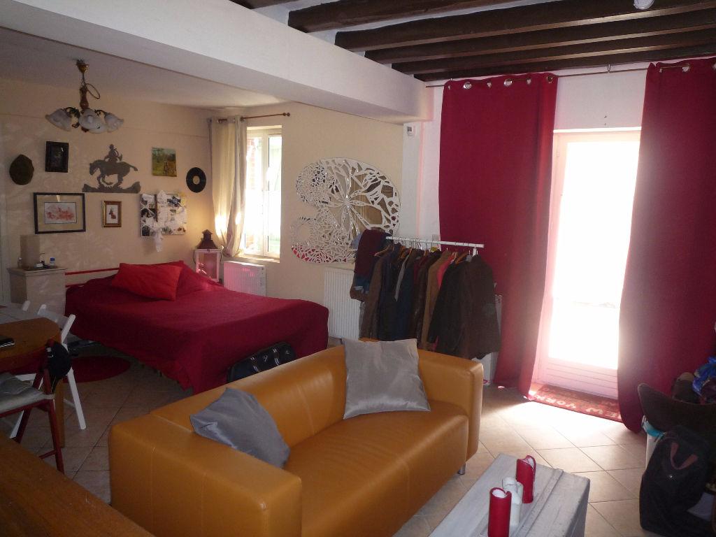 Maison à vendre - Langon ,Longère pleine de charme , quatre chambres , studio , piscine , terrain 1325 m²
