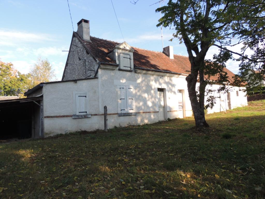 Maison à vendre - Maison 80 m² - 2 chambres - plain pied - Jardin 1300 m²