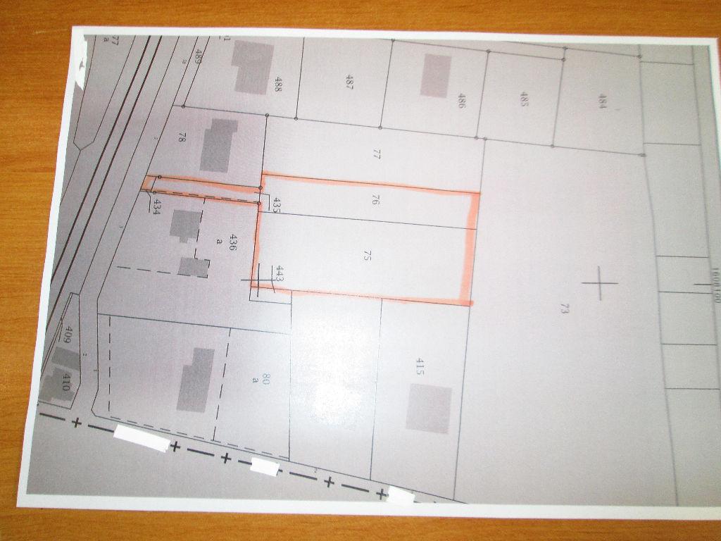 Terrain 2462 m² - VILLEFRANCHE SUR CHER