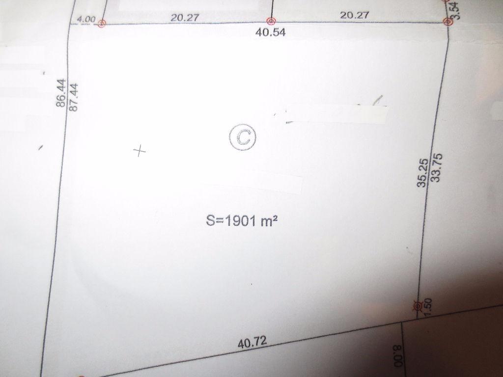 Terrain 1901 m² - ROMORANTIN LANTHENAY