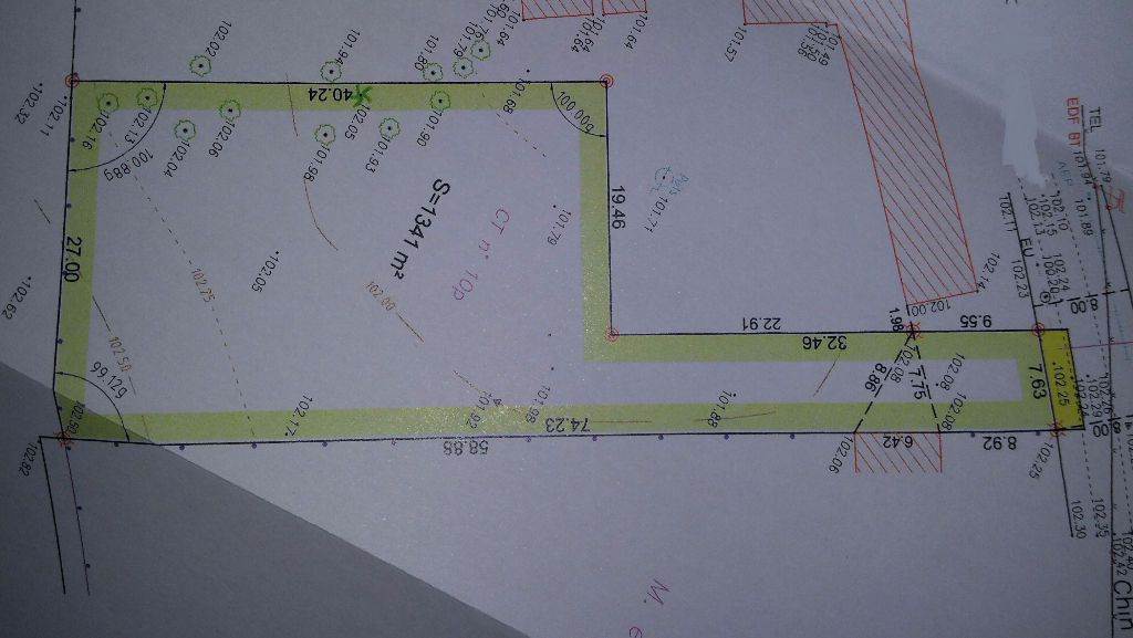 Terrain 1358 m² - ROMORANTIN LANTHENAY