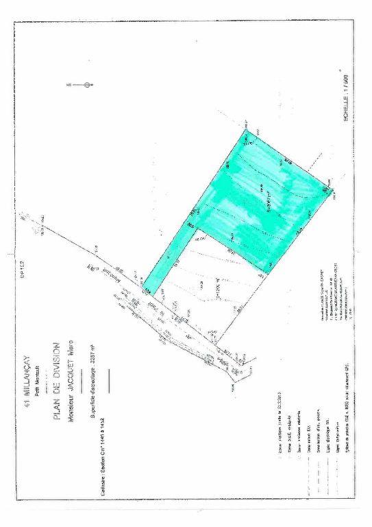 Terrain 2087 m² - MILLANCAY