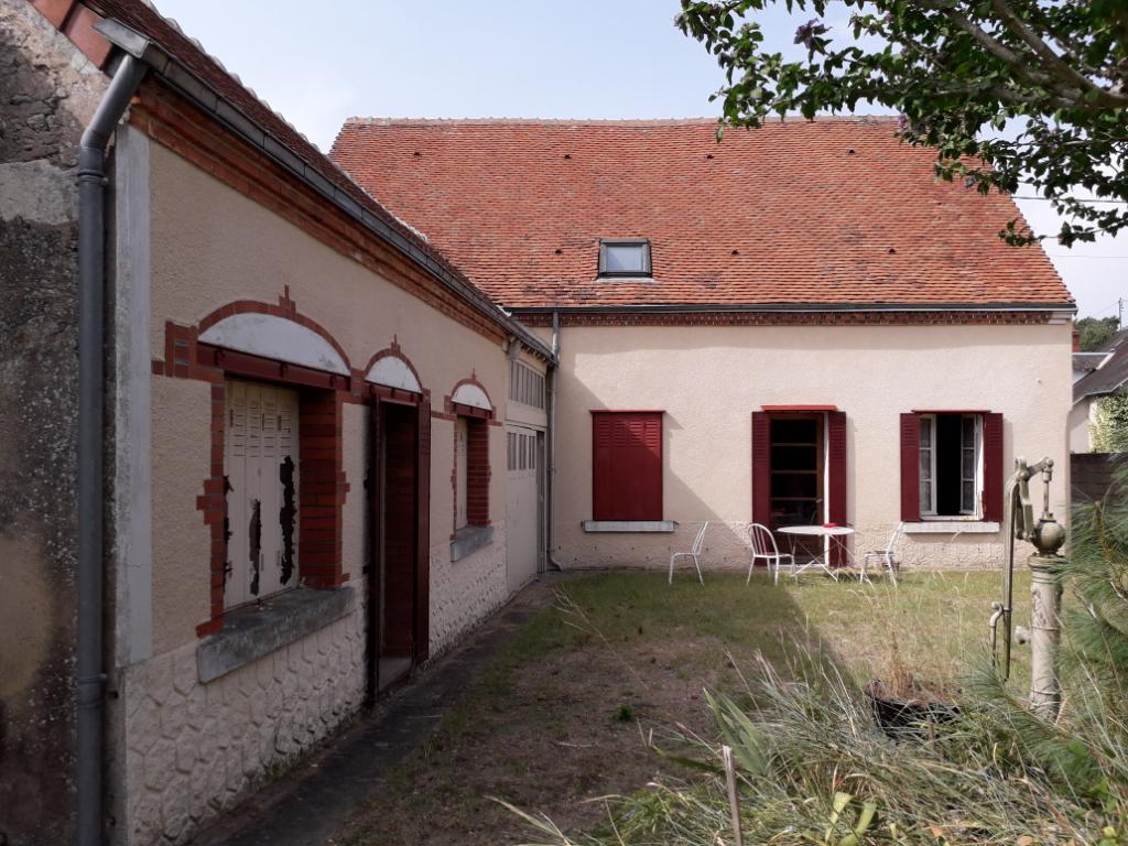 Maison 4 pièces - 2 chambres - CHABRIS