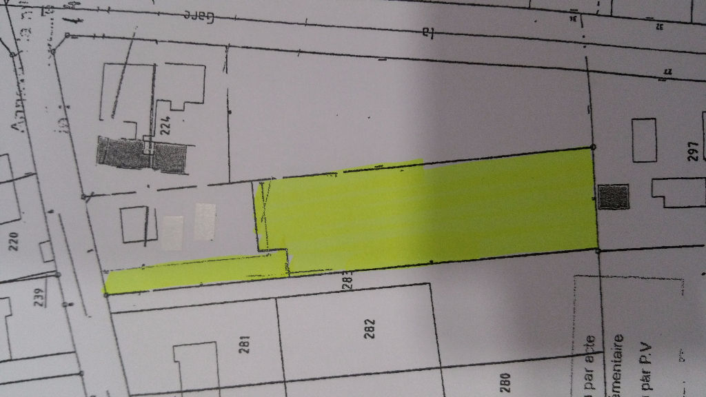 Terrain 1622 m² à vendre à SELLES SAINT DENIS
