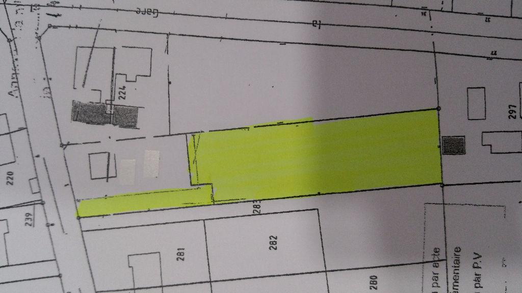 Terrain 1622 m² - SELLES SAINT DENIS