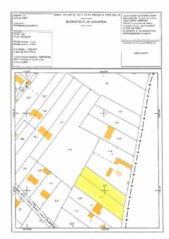 Terrain 2000 m² - ROMORANTIN LANTHENAY