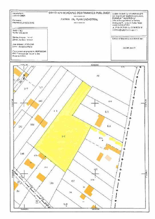 Terrain à vendre - Terrain 4 500 m² à  Pruniers En Sologne