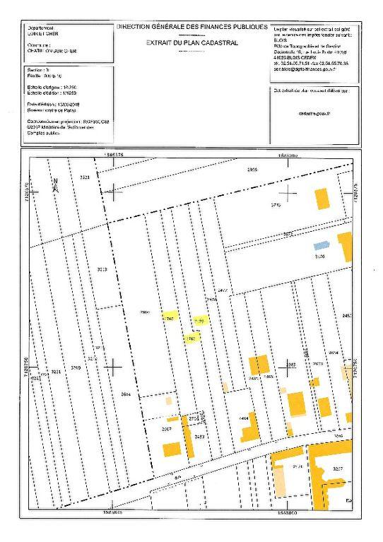 Terrain à vendre - Terrain Chatillon Sur Cher 5300 m2