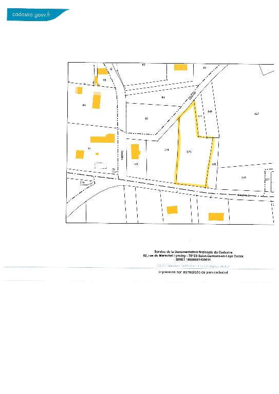 Terrain 2325 m² - SELLES SUR CHER