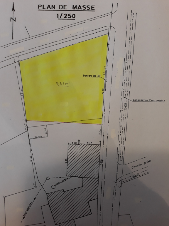 Terrain 531 m² - LA MAROLLE EN SOLOGNE