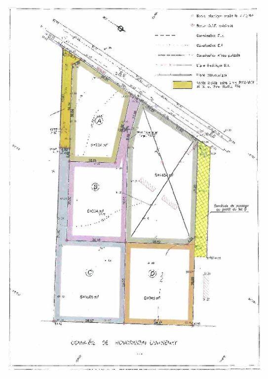 Terrain 1086 m² - ROMORANTIN LANTHENAY
