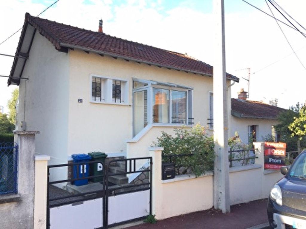 Maison 4 pièces 60,43 m2 Limoges